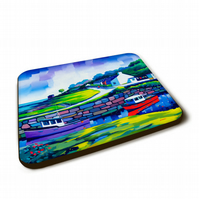 Four piece coaster set  (Free pp UK)