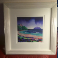 "Small 16"" Framed Culzean Castle Limited Edition Signed Giclee Print (Free UK pp)"