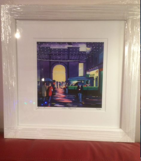 Framed Rogano limited edition giclee print (free UK Postage)