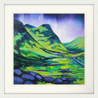 Any X Large Signed Framed Limited Edition giclee print ( Free PP  UK)