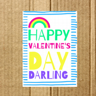 Card- Happy Valentine's Day Darling