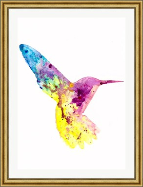 Hummingbird - Print of Original Watercolour Painting
