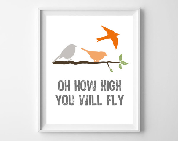 Instant Download - 'Oh, How High Will You Fly?''