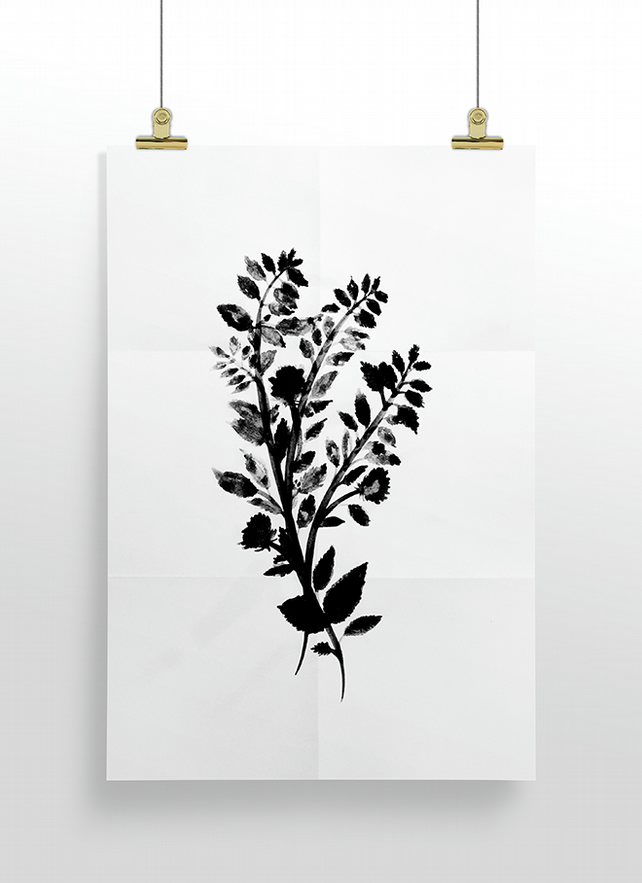 Instant Download - Botanical Print