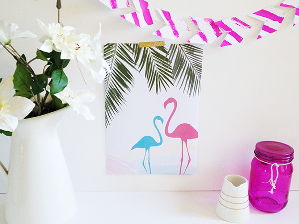 Instant Download - Flamingos