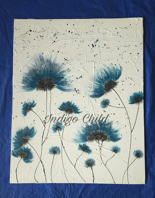 Art Painting Wild Flowers Painting