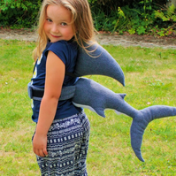 Shark Costume Great White Shark Tail and Fin