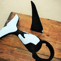 Killer Whale Costume Kids Whale Tail and Fin