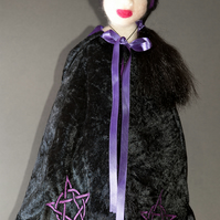 Witch Cassandra - One Of A Kind Needle Felted