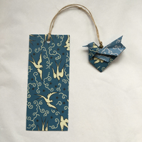 Origami Bird Bookmark