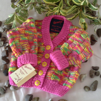 SALE Baby Girls Cardigan 0-6 months size