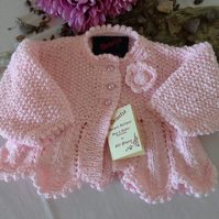SALE ITEM Baby Girls Cardican 0-3 months
