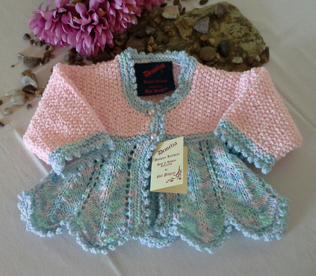 SALE ITEM Baby Girls Cardigan  0-6 months