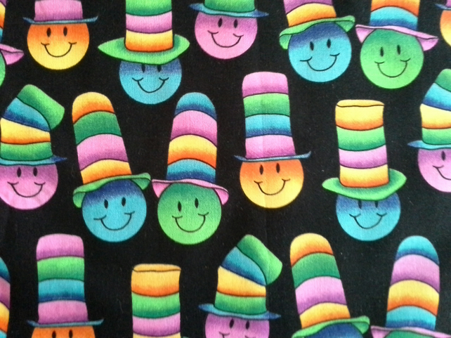 100% Quality Cotton Fabric Happy Hats