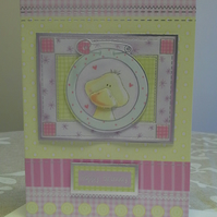 Girls Birthday Card A5 size