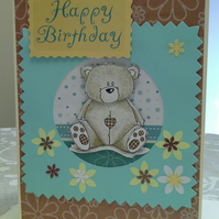 'Forever Friends ' Birthday Card large A5 Size