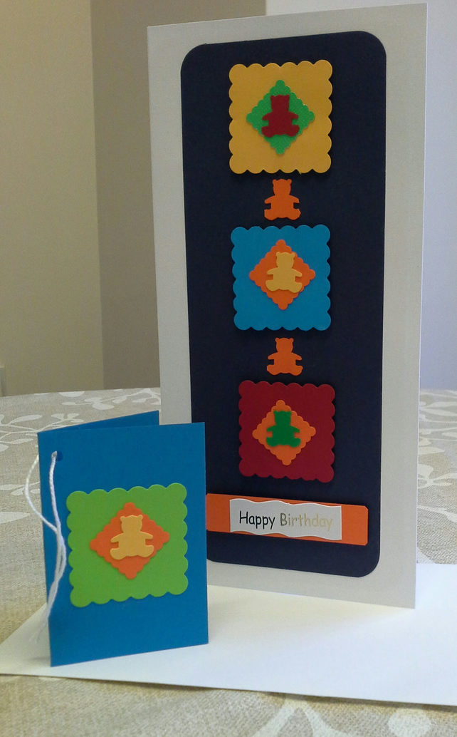 UNIQUE Unisex Childs Card & Gift Tag