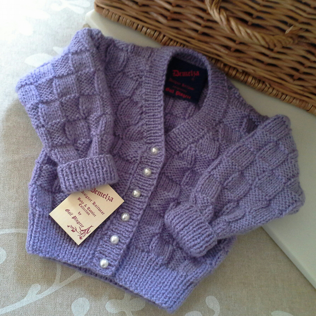 Baby Girls Lilac Cardigan 6 months Size