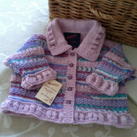 Baby Girls Jacket  0-6  months size
