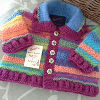 Baby Girls Cardigan 0-6 months size