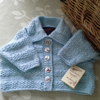 WAS 18.50 NOW 12.75 Baby Boys Cardigan 0-6 months