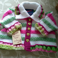 Baby Girls Jacket 0-6 months