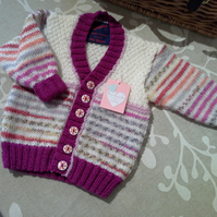Girl's Baby Cardigan 12-18 months Size