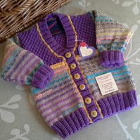 Baby Girl's Cardigan  12-18 months size