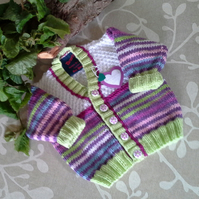 Baby Girl's Cardigan 6-12 months size