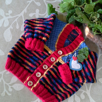 Unisex Baby Cardigan 9-18  months size
