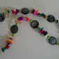 Multi Coloured Mother of Pearl Necklace