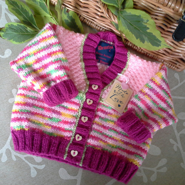 Baby Girl's Cardigan   0-6 months size