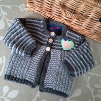 Baby Boys Super Soft Aran Jacket 0-6 months