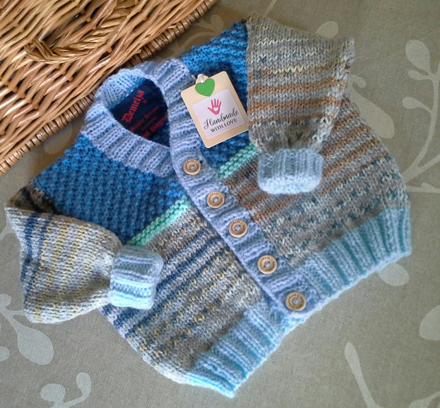 Baby Boys Cardigan  6-12 months size