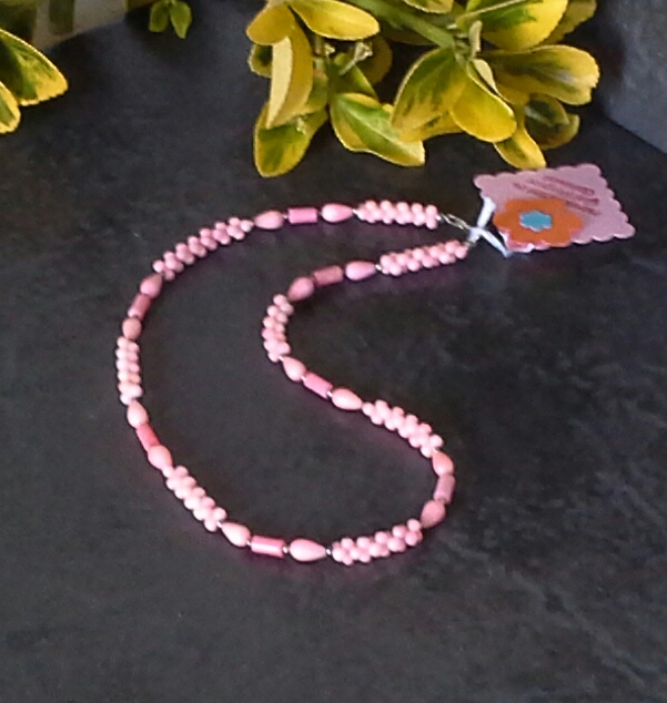 Genuine Coral Sterling Silver Necklace