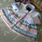 Baby Girl's Designer Knitted Dress 0-6 months size