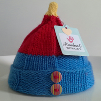 Baby Boys Newborn Pixie Hat