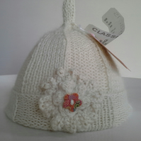 Luxery  Pure 'Baby Alpace'  Baby  Pixie Hat  0-3 months