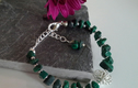 PREHNITE &  MALACHITE JEWELLERY