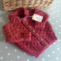 Baby Boy's Cardigan  size  6-12 months