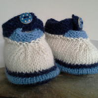 Luxery Pure 'Baby Alpaca' Baby Shoes  0-6 months