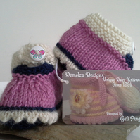 Pure 'Baby Alpaca' Baby Shoes  0-6 months