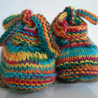 Luxery Unisex Baby Shoes  with 75% wool  0-6 months size