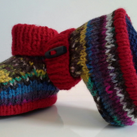 Baby Boys Booties  3-9 months size