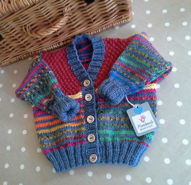 Baby Unisex Cardigan 6-12 months size