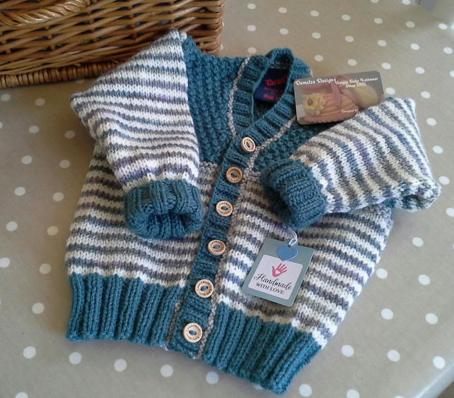 Boys Knitted Cardigan  2 year size