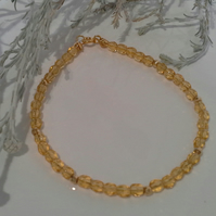 Crystal Gold Vermeil Friendship Stacker Bracelet