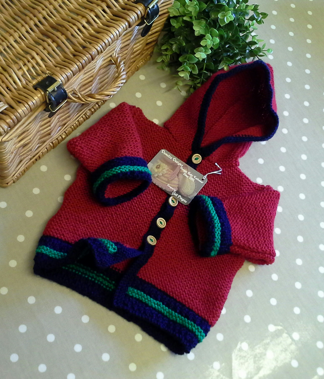 Unisex Baby Hooded Jacket  3-9 months size