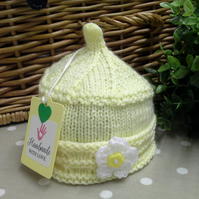 SALE ITEM  Premiture-Newborn Baby Girl's Hat.