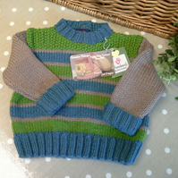 SALE ITEM Baby Boy's Knitted Jumper  12-18 months size